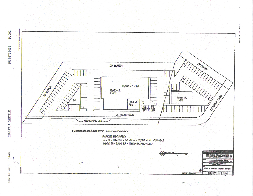 Site Plan re 5316 Nesconset Highway